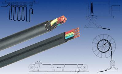 扁型橡套电缆